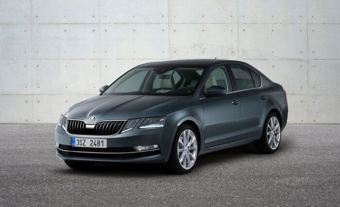 Skoda Octavia po faceliftingu 2017 sedan